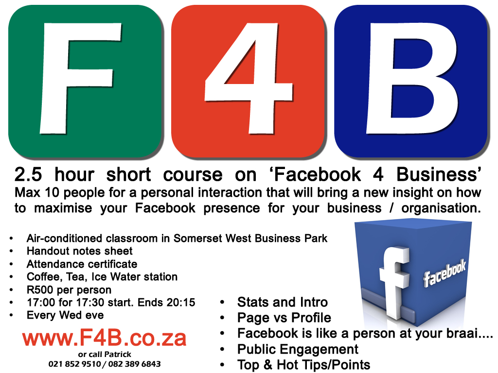 F4B Advert Facebook