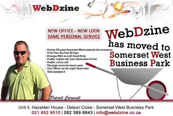 MOVED Website Design Somerset West